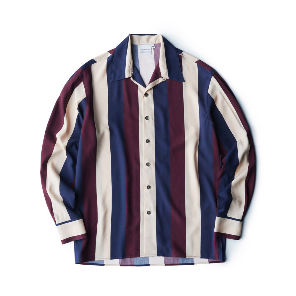 Stripe shirt - Wine