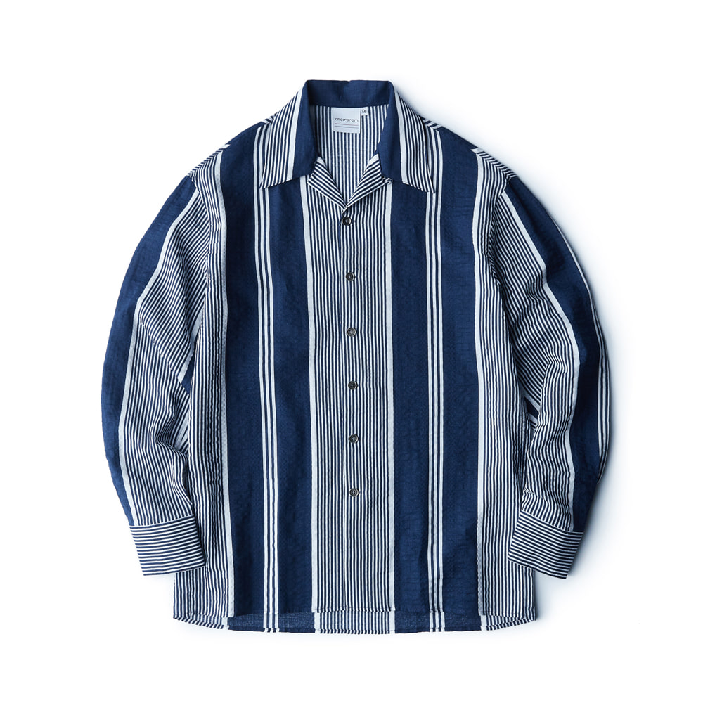 Stripe shirt - seersucker