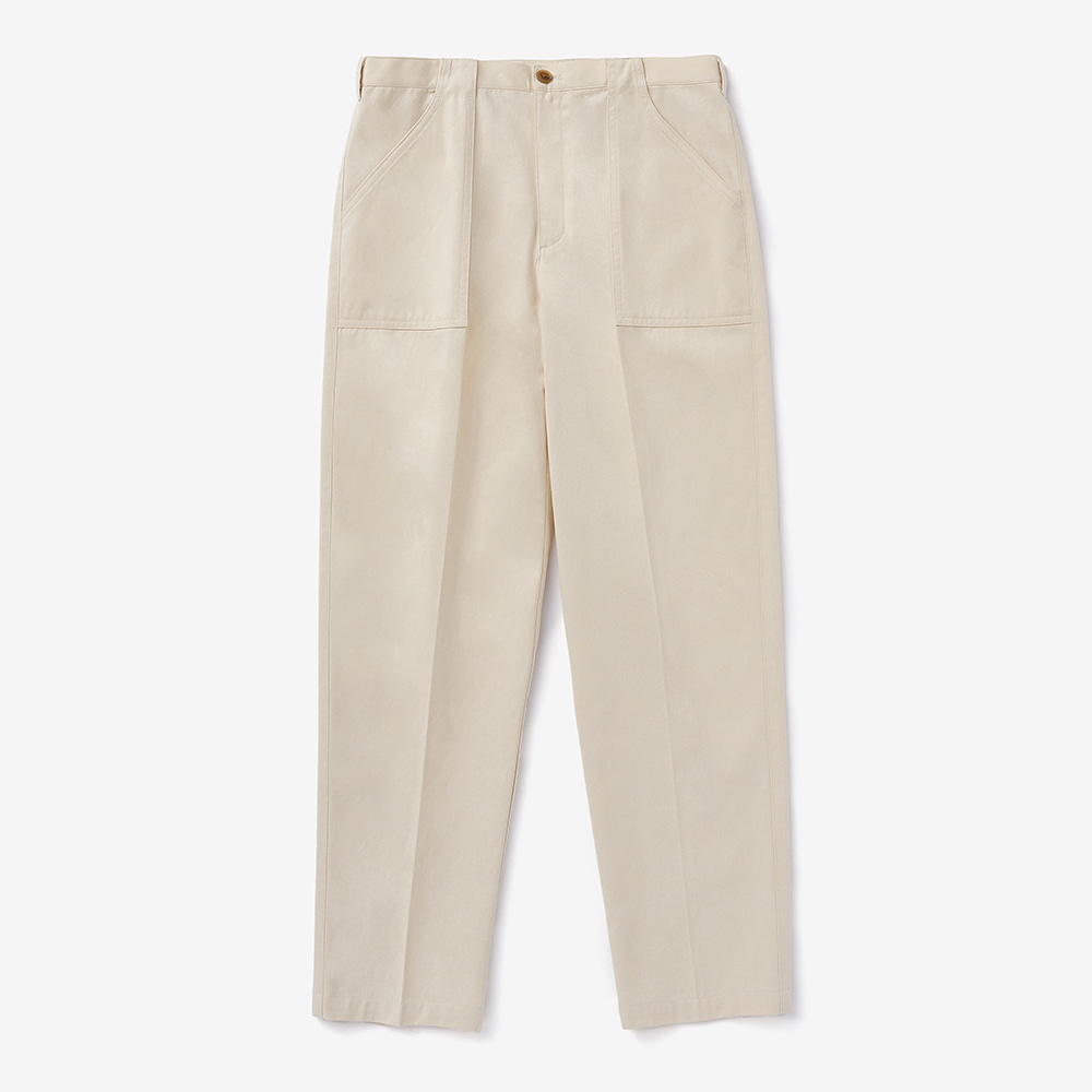 Chadprom Fatigue pants- ivory