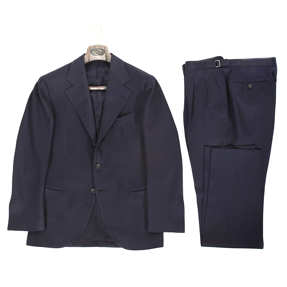 B&TAILOR Cavalry Twil Navy Single Suit