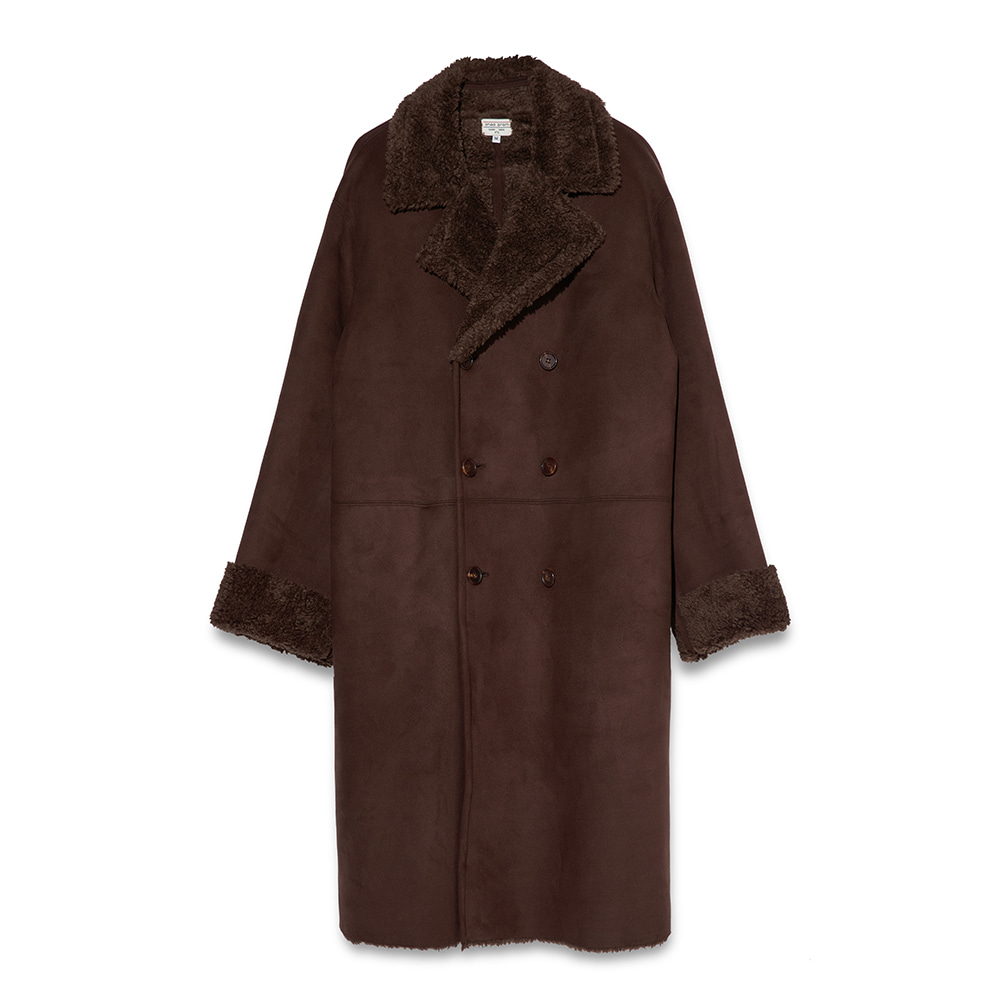 Suede coat - Brown